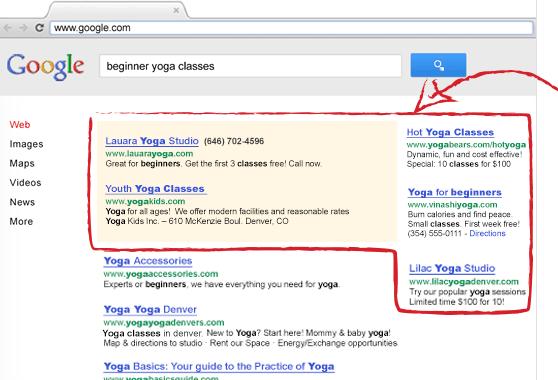 Интернет реклама в Google