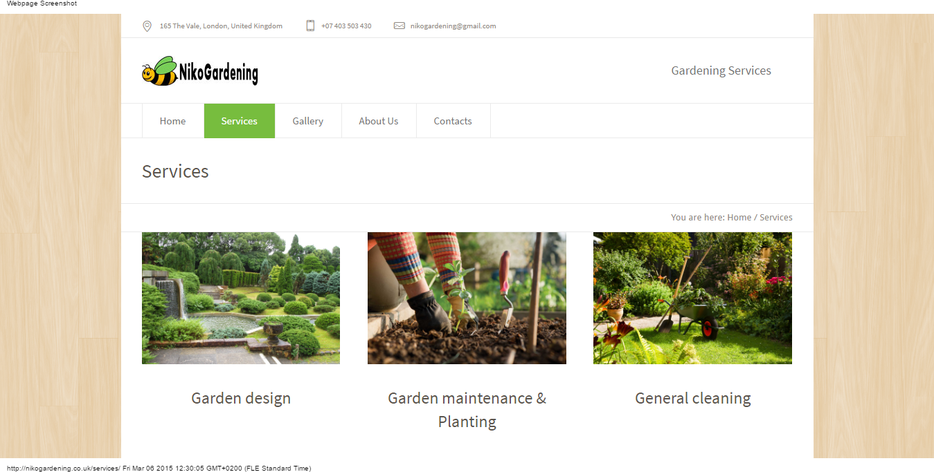 Градинарски услуги в Лондон